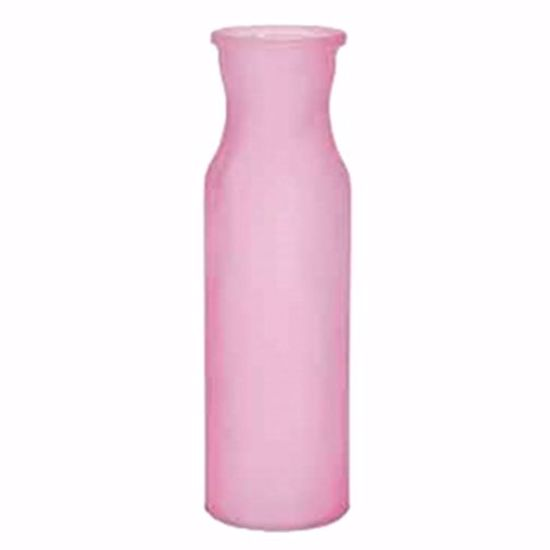 "Picture of 8"" Enzo Vase-Strawberry Flush"