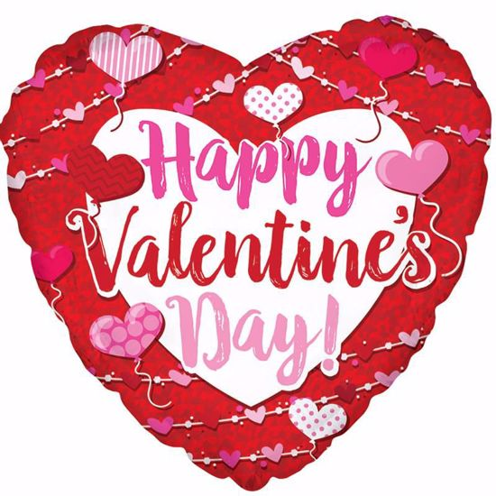 """Picture of 17"""" 2-Sided Foil Balloon: HVD Big Type"""