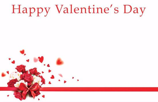 Picture of Happy Valentine's Day Enclosure Card