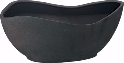 Picture of CeraMix GEO Pot - Blackwash