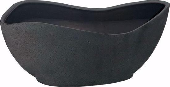 Picture of CeraMix GEO Pot - Blackwash