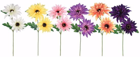 """Picture of Spring Colors Stellar Dahlia Spray-15"""""""