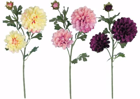 """Picture of Spring Colors Trumpet Dahlia Spray (26"""")"""