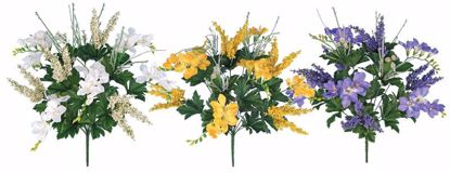 """Picture of Assorted Colors Spring Bush (3 Assorted, 20"""")"""