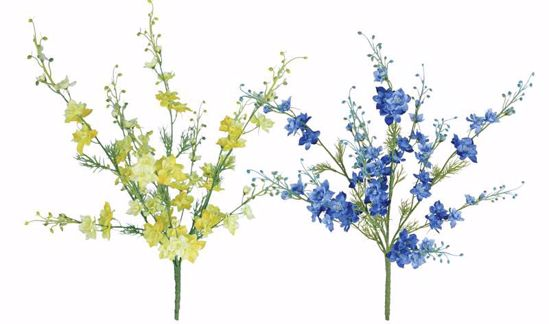 """Picture of 2 Assorted 24"""" Larkspur x4"""