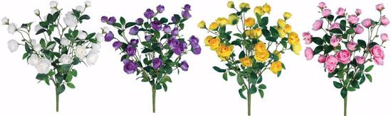 "Picture of 4 Assorted 18"" Ranunculus Bush x7"