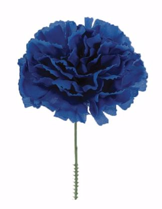 """Picture of Blue Carnation Pick (7"""")"""