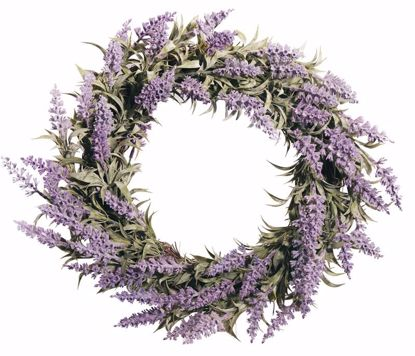 """Picture of Lavender Wreath (22"""")"""