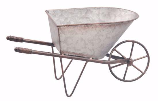 Picture of Galvanized Wheelbarrow