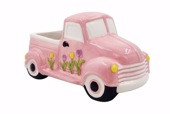 Picture of Pink Ceramic Truck
