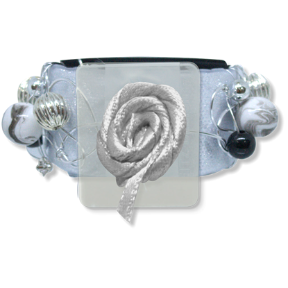Picture of Angelyn Slap Bracelet Silver