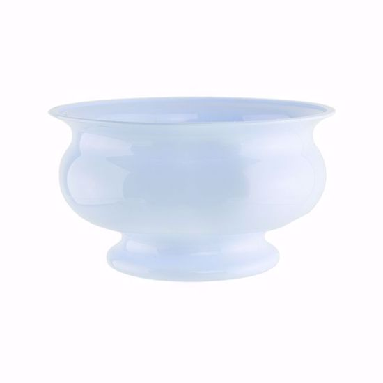 """Picture of Syndicate Sales Pedestal Bowl 5"""" in Seaside Blue"""