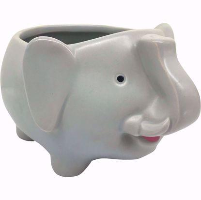 Picture of Ceramic Elephant Planter