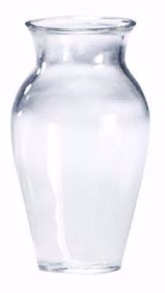 "Picture of 10"" Glass Bouquet Vase - Clear"