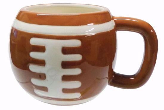 Picture of Ceramic Football Mug (16 oz)