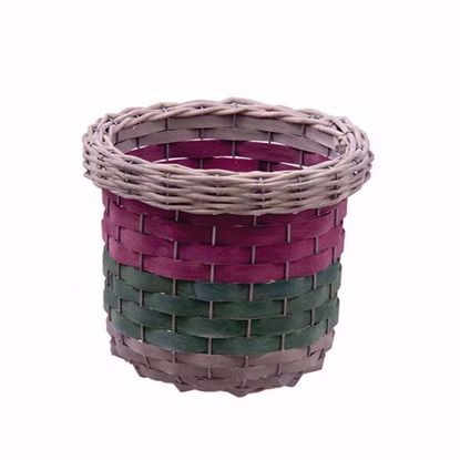 """Picture of 7"""" Chipwood Pot Cover with Wire Reinforcement"""