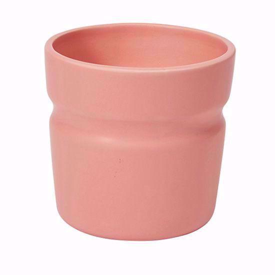 """Picture of 4.5"""" Peach Groove Ceramic"""