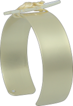Picture of Riley Flower Cuff Gold Matte