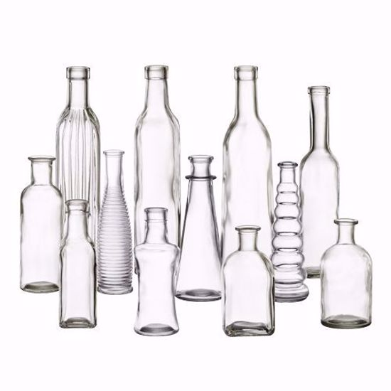 Picture of Syndicate Sales Vintage Glass Bottle Collection - Clear