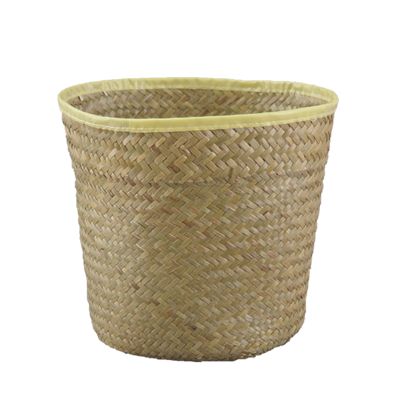 "Picture of 10"" Palm Leaf Potcover"