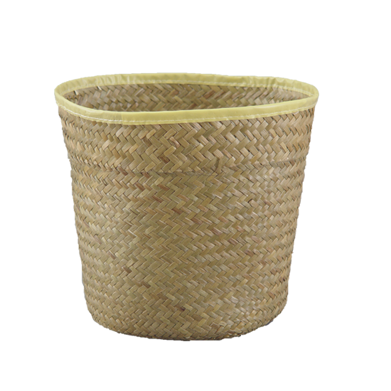 """Picture of 10"""" Palm Leaf Potcover"""