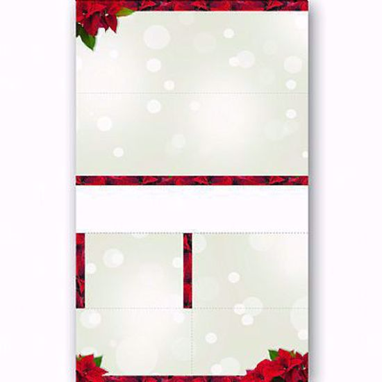 Picture of FTD Mercury Predesigned Order Entry Form - Poinsettia Sparkle