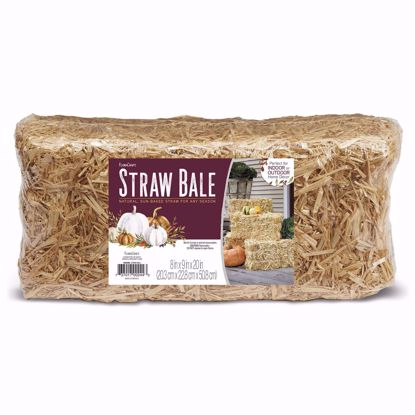 """Picture of Straw Bail - Natural 8"""" X 9"""" X 20"""""""