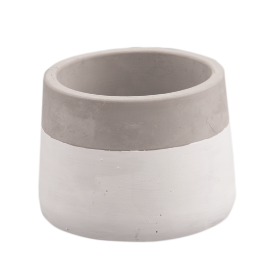 """Picture of Two-Tone Cement Planter 3.25"""""""