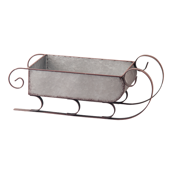 Picture of Rustic Galvanized Metal Sleigh