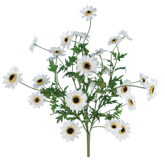 """Picture of 25"""" White Flower Bush x 5"""