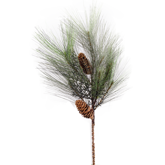 """Picture of Evergreen Spray-Mixed Pine with Cedar Cones (24"""")"""