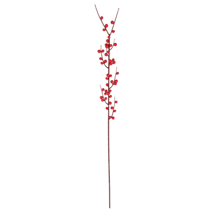 """Picture of Red Berry Branch (25"""", Plastic)"""