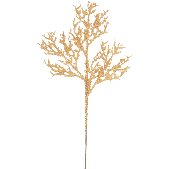 """Picture of Holiday Twig Spray  -Gold (18"""")"""