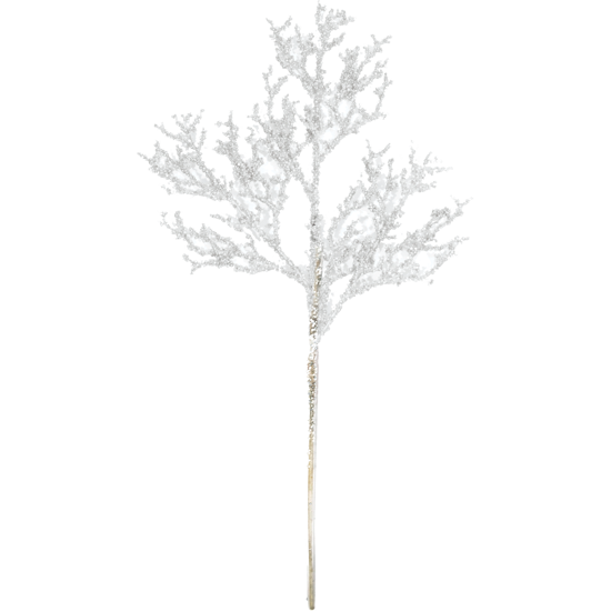"""Picture of Holiday Twig Spray  -White (18"""")"""