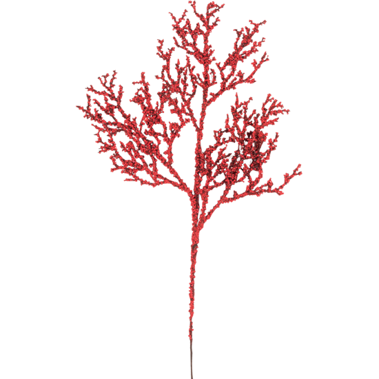 """Picture of Holiday Twig Spray  -Red (18"""")"""