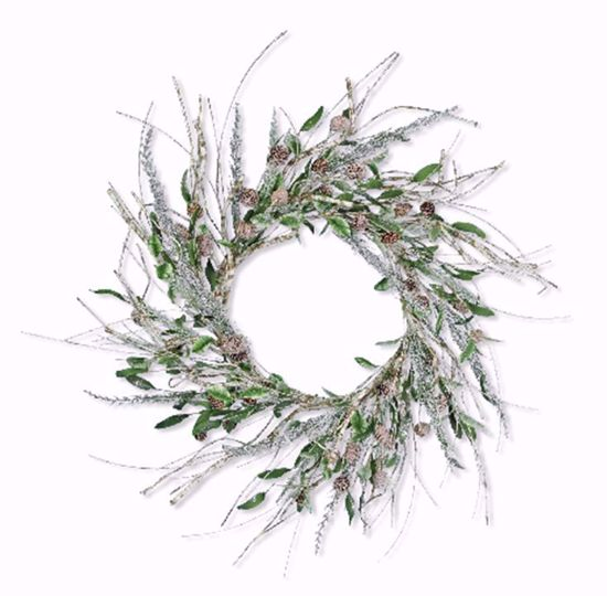 """Picture of Festive Winter Wreath-Northwood Sprig (23"""")"""