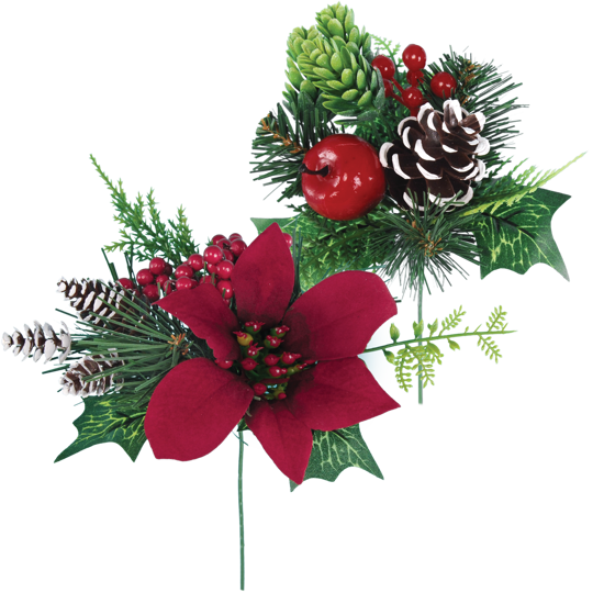 """Picture of Holiday Traditional  Pick (2 Assorted, 7"""")"""