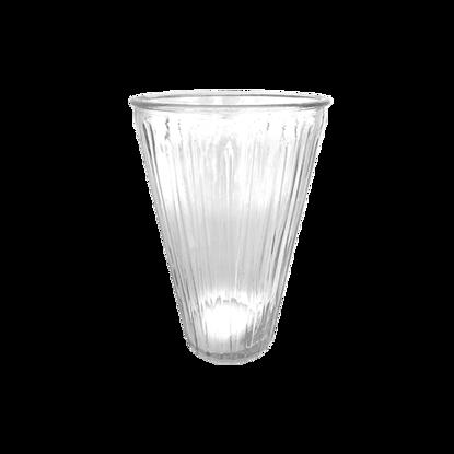 "Picture of 10"" 2 Dozen Vase-Clear"