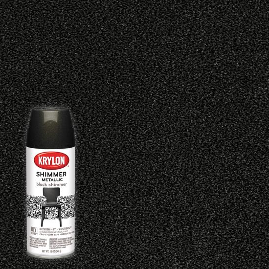 Picture of Krylon Brilliant Metallic-Black Stainless Steel