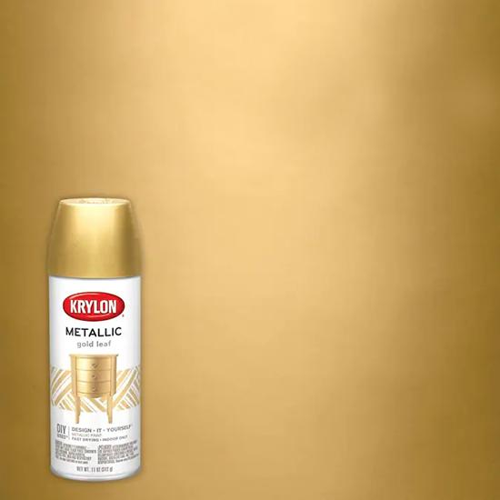 Picture of Krylon Brilliant Metallic-Gold Metallic