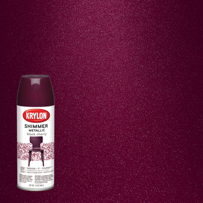 Picture of Krylon Candy Shimmer-Black Cherry