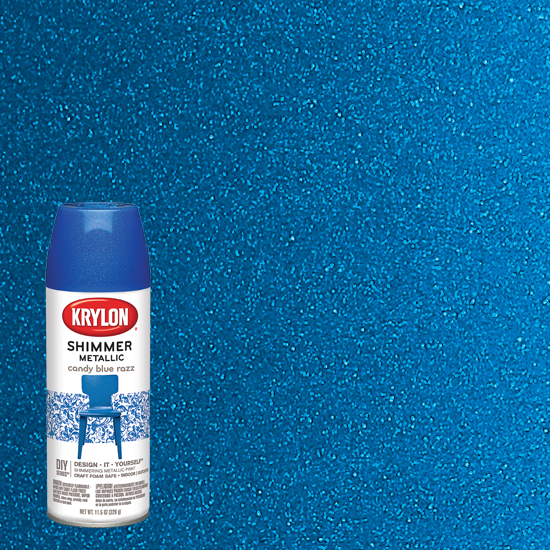 Picture of Krylon Candy Shimmer-Blue Razz