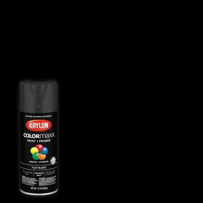 Picture of Krylon Colormaxx (Flat Finish) -Black