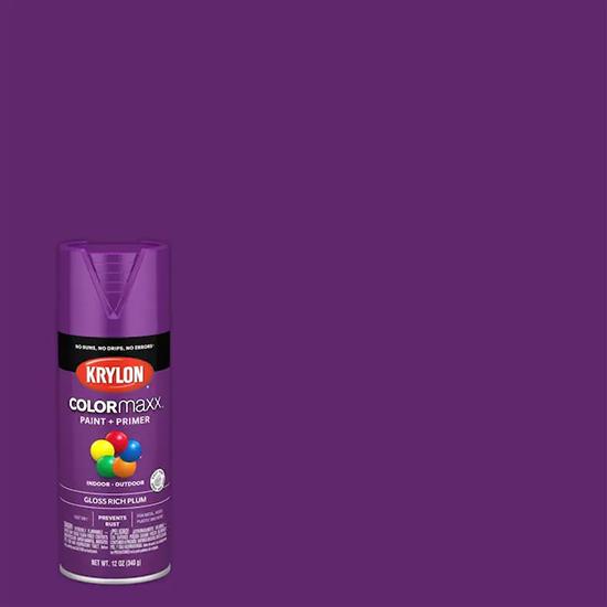 Picture of Krylon Colormaxx-Plum
