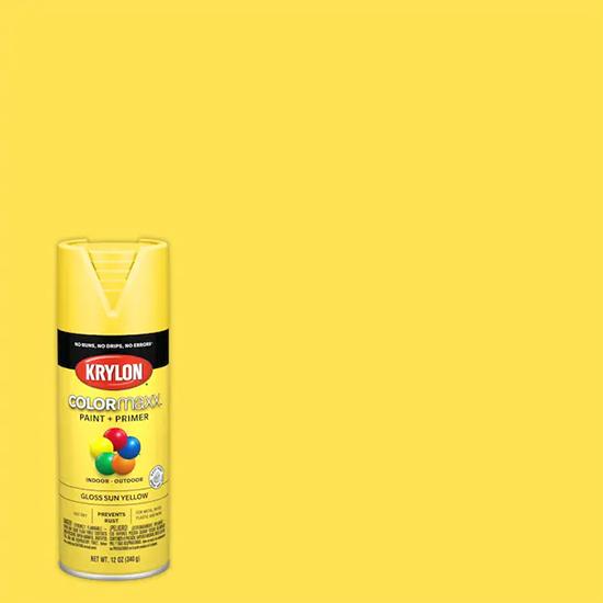 Picture of Krylon Colormaxx-Sun Yellow