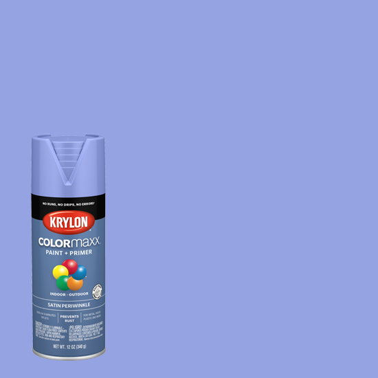 Picture of Krylon Colormaxx (Satin Finish) -Periwinkle