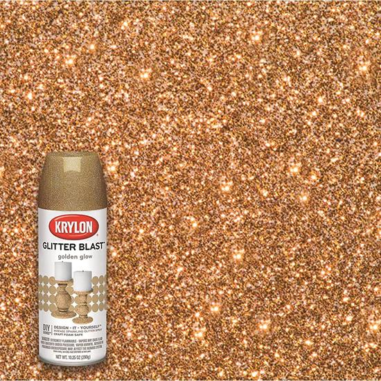 Picture of Krylon Glitter Blast  -Golden Glow