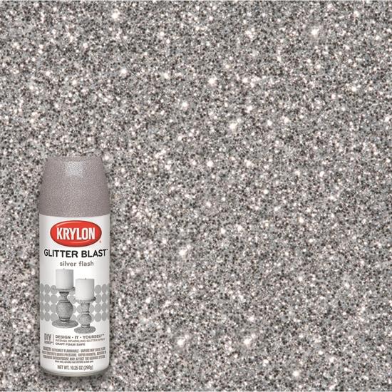 Picture of Krylon Glitter Blast  -Silver Flash