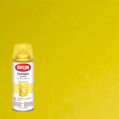Picture of Krylon Stained Glass Tint-Canary Yellow