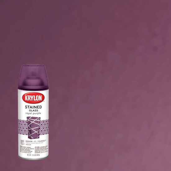 Picture of Krylon Stained Glass Tint-Royal Purple